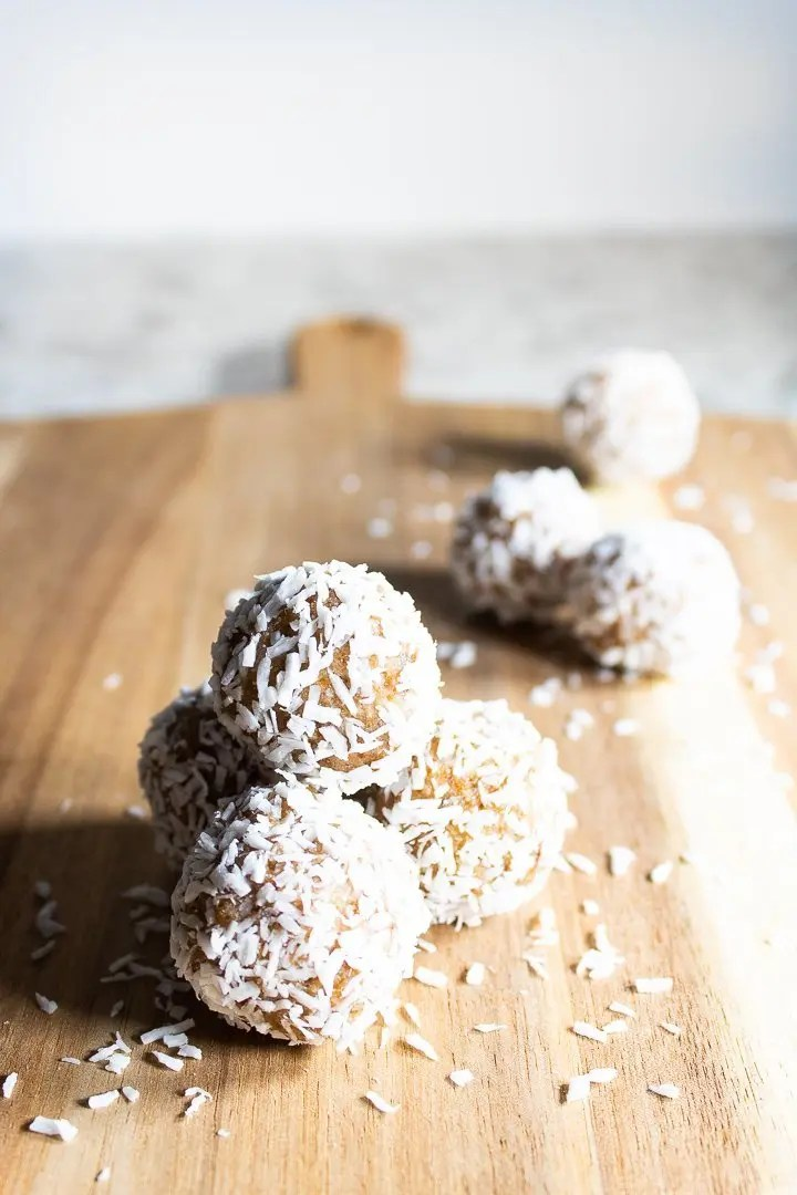 Coconut Collagen Bliss Balls (Paleo, AIP, Nut-Free)