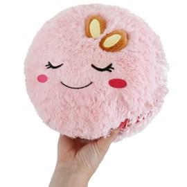 111404 Mini Squishable Comfort Food Pink Macaron - 18 cm