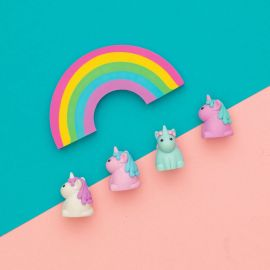 111494 OOLY Unique Unicorn Strawberry Scented Erasers