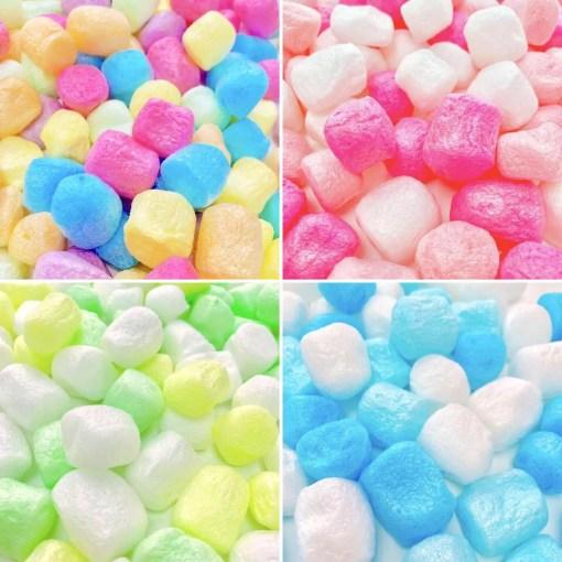 Pärlor Stora Skumbollar Marshmallows - Slime Dekorationer