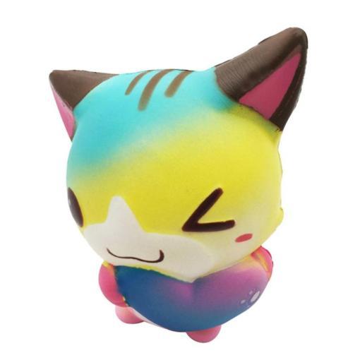 Squishy Katt Med Hjärta