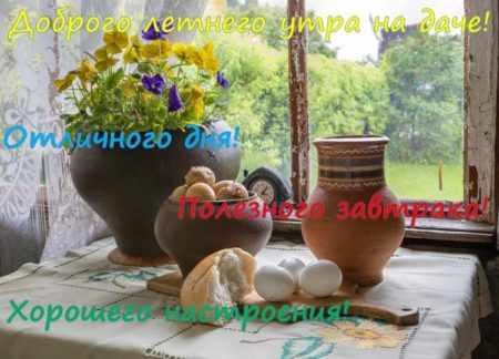 Картинки с добрым летним утром