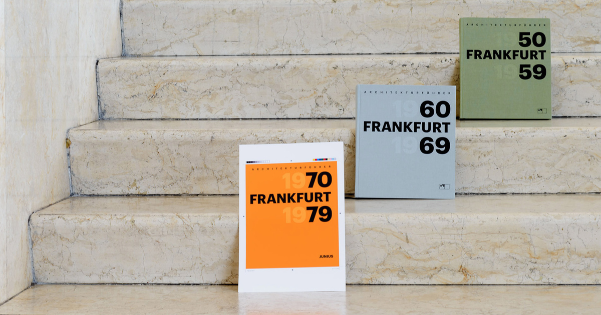Foto von Buchreihe Frankfurt 1950 - 1959, Frankfurt 1960 - 1969, Frankfurt 1970 - 1979