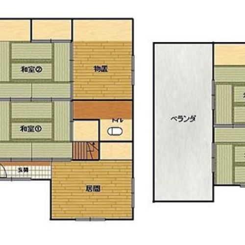 今日は地味な間取り図。確か35万円のこのお家。この辺増築だなぁとか分かると地味に楽しい。。。そこが洋室なのにそこは物置なんだ〜#間取り#間取り図#間取り図大好き #間取り萌え #間取り図フェチ #間取りの手帖 #間取り図好き #間取りフェチ #間取りマニア #間取り図ナイト #間取り図鑑定士 #今日の間取り