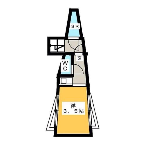 こりゃ飛びますね宇宙に飛び立つ3.5畳!宇宙船の中って狭いらしいですからね〜シャワーを浴びた後は…めんどうだから全裸のまま帰還しちゃうかなぁ〜最上階っぽいし。。。 どうやって使うシンクなんだろ?何か、テレビで観たことあるような??な間取り図だなぁ#間取り#間取り狂 #間取り図 #間取り萌え #間取り図好き #間取り図初段 #間取り図鑑定士 #狭い#宇宙船#ロケット