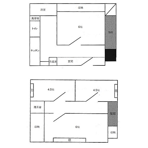 スイッチみたいな扉。電気回路図のあれですね〜とりあえずスイッチはオフらしいですけど、家としては入り放題です(笑)キッチンがシンクを表現しているんだとすると、トイレ劇狭︎シンクの奥行きって…60センチくらい?ですよね?豪邸はしりませんけど〜#スイッチ#回路図#もう#忘れそう#笑#トイレ#階段#理解に#少しの#時間を#要す#間取り図 #間取り #間取り図好き #間取りと妄想 #間取りフェチ#間取り萌え#間取りマニア#間取り道#間取り教#間取り狂#間取り図鑑定士 #間取り図が好き