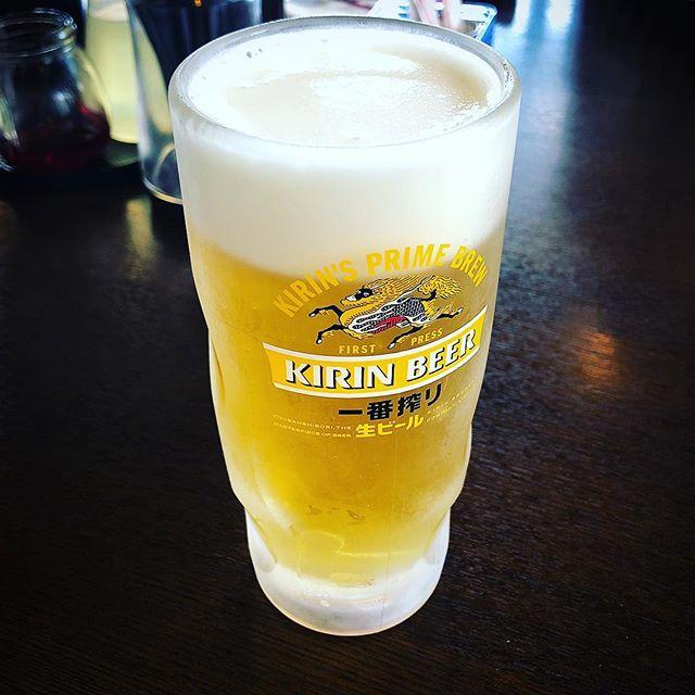 カヤックからのビール #昼から#ビール#美味い#海を見ながら