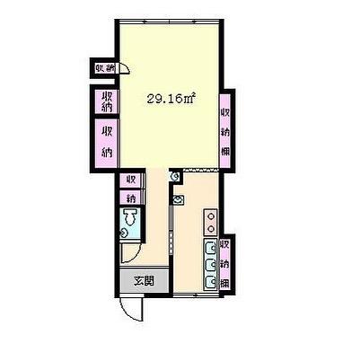 ボロボロ外階段の築古アパート。〇〇荘って名前がぴったり。。の中がこんなことに︎#脳内#超#隠れ家レストラン#開店しました#俺のレストラン#何ヶ月#もつかな#間取り図
