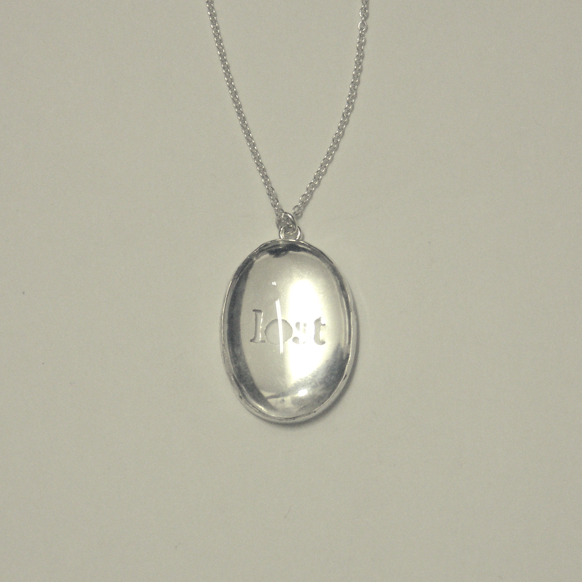 LSN-Lost setting necklace