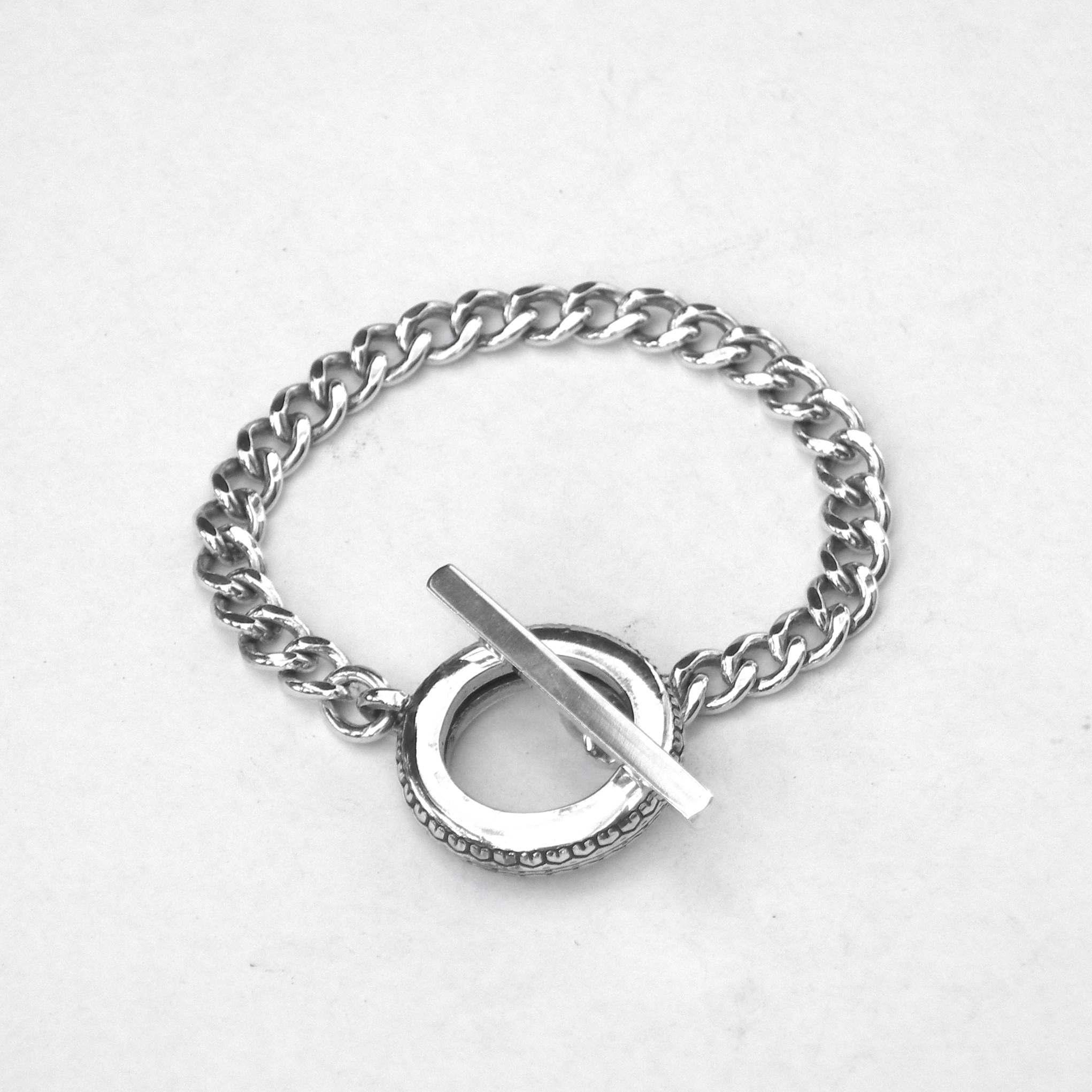 TTB tire t bar bracelet