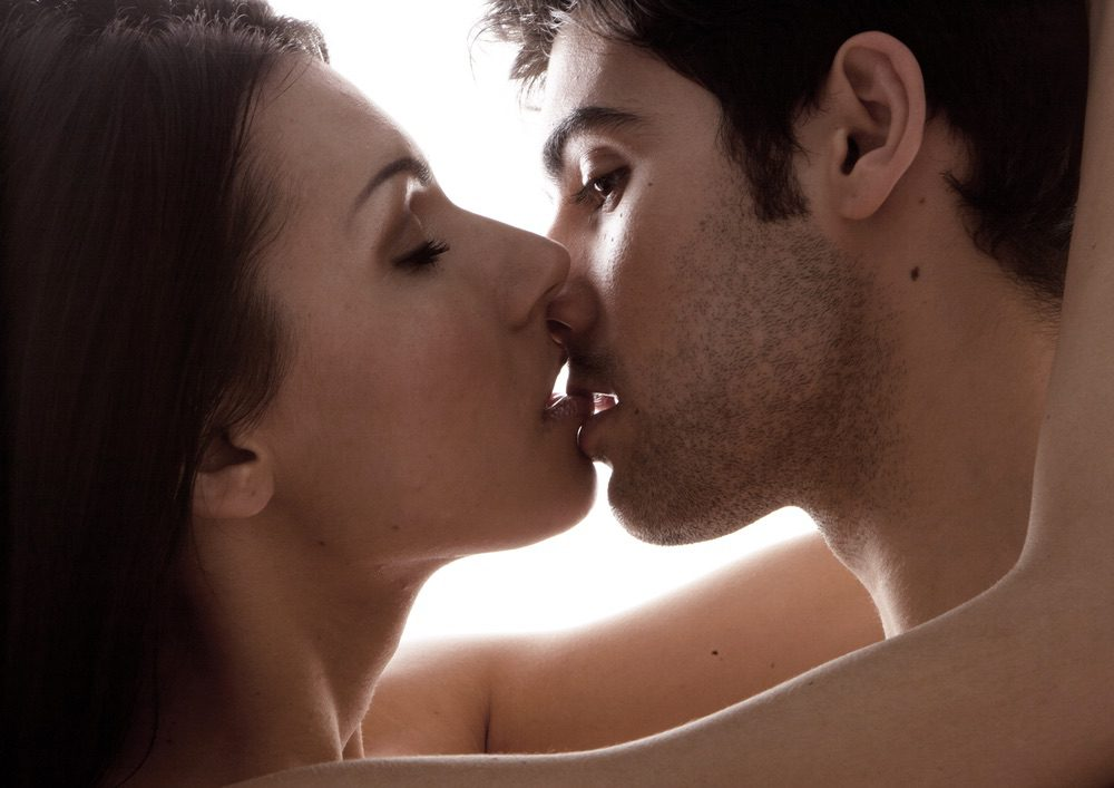 submissive kissing