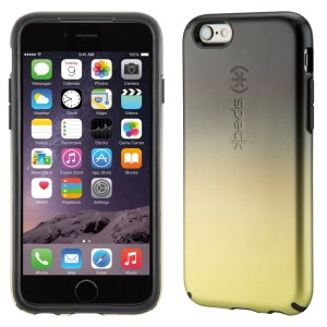 Carcasa iPhone 6S Inked Luxury Edition Golden Ombre Black