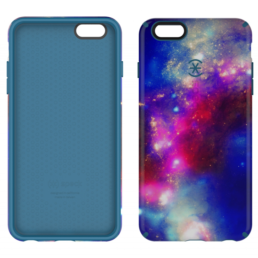 Carcasa iPhone 6 Plus, 6S Plus CandyShell Inked SuperNova Red/Tahoe Blue