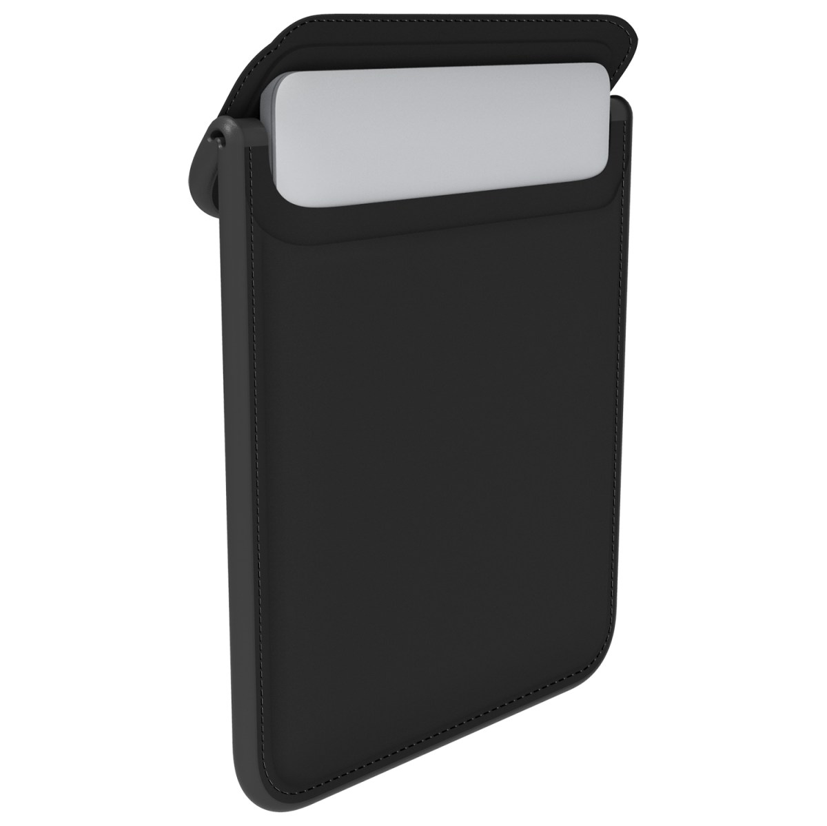 "Husa MacBook 12"" Flaptop Sleeve Black/Slate Grey/Black"