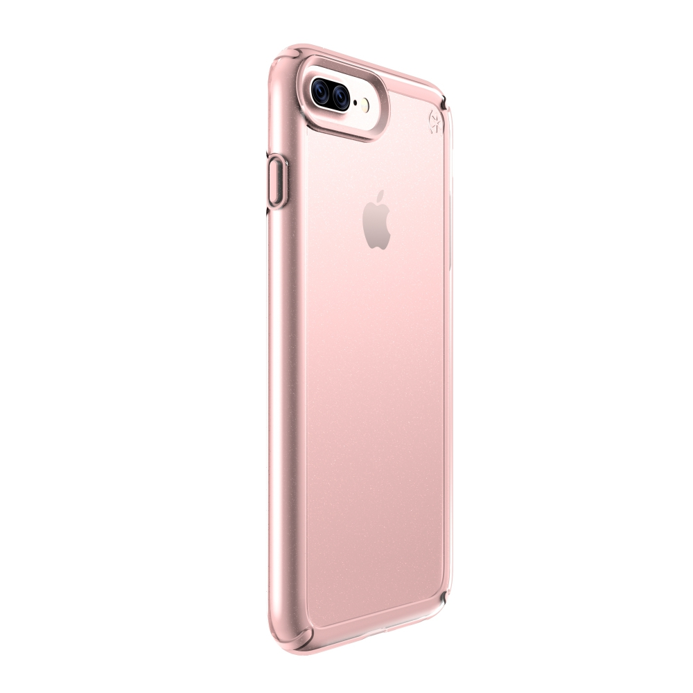 Carcasa iPhone 8 Plus, 7 Plus, 6 Plus, 6s Plus Presidio SHOW Clear/Rose Gold