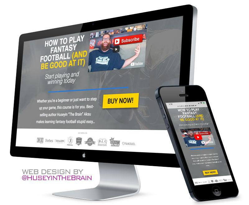 Web design for online course