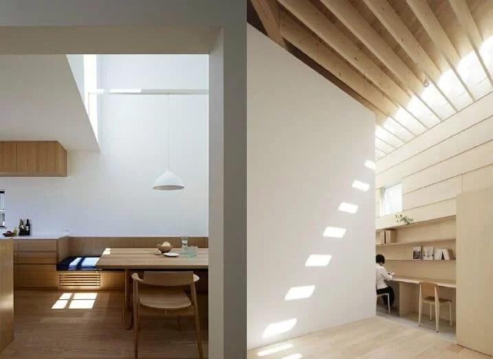 inspiration architects Japanese light