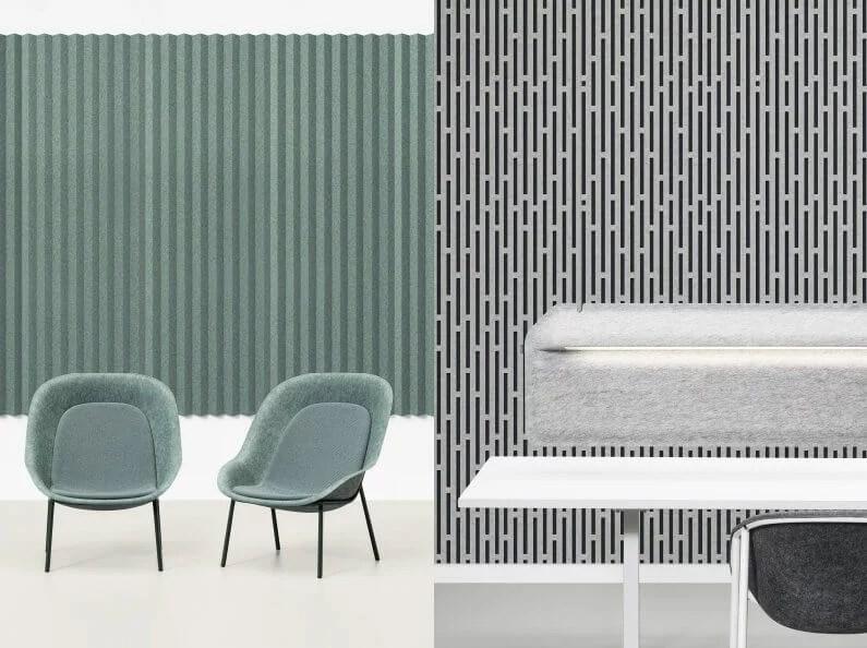 acoustical Wallcovering mute vorm huskdesignblog