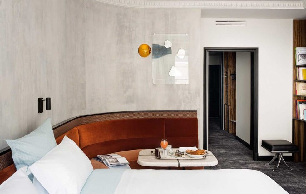 GET THE LOOK # 6 – Une chambre comme à l'hôtel Les Bains Paris