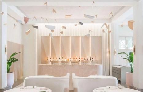 SINGAPOUR: Odette, élu Meilleur Restaurant des Wallpaper* Design Awards