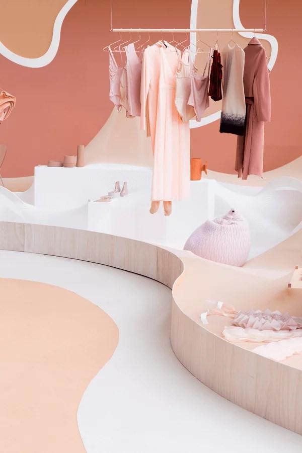 Le rose en retail - Modefabriek, Nude vs Naked, Floor Knaapen and Grietje Schepers