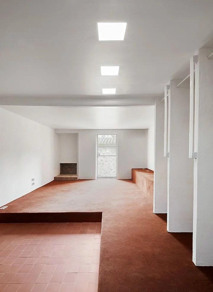 Arquitectura-G, architecture d'intérieur, rouge