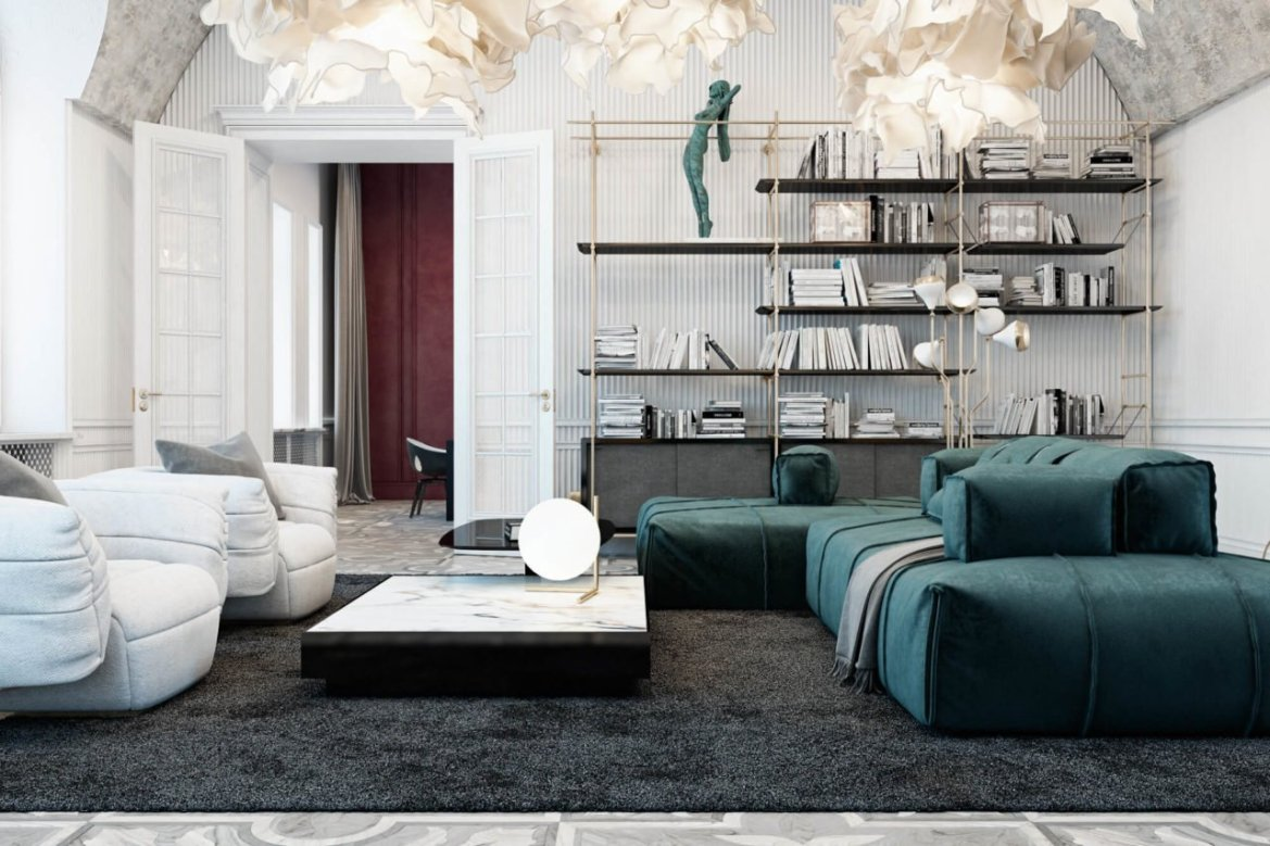 Studio Diff interior design, Italie