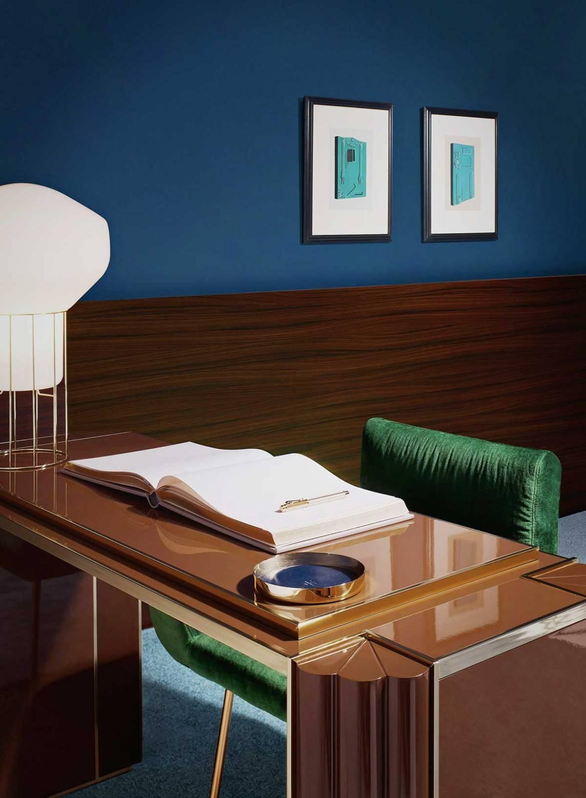 Wallpaper* Motel, Matthew Morris interiors, années 70