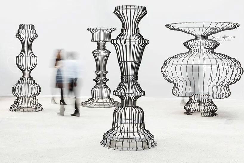 DesignMiami/ Basel 2017, Galerie Philippe Gravier, Sou Fujimoto, Forest of Books