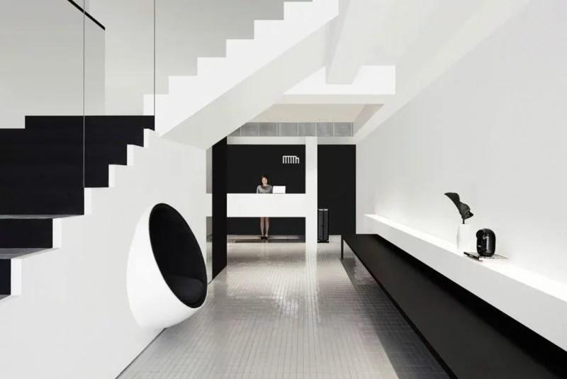 Design, Architecture d'intérieur, Noir et Blanc - Hotel Mono, Singapore