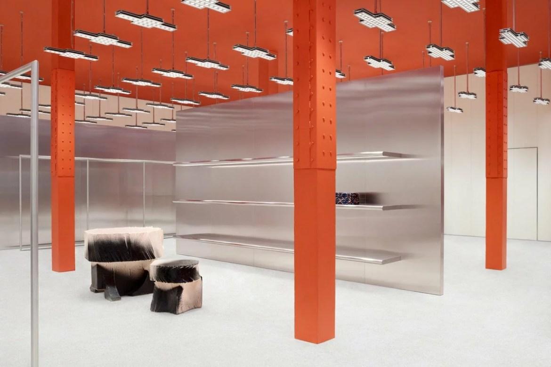 Acne Studios, San Francisco flagship, Max Lamb