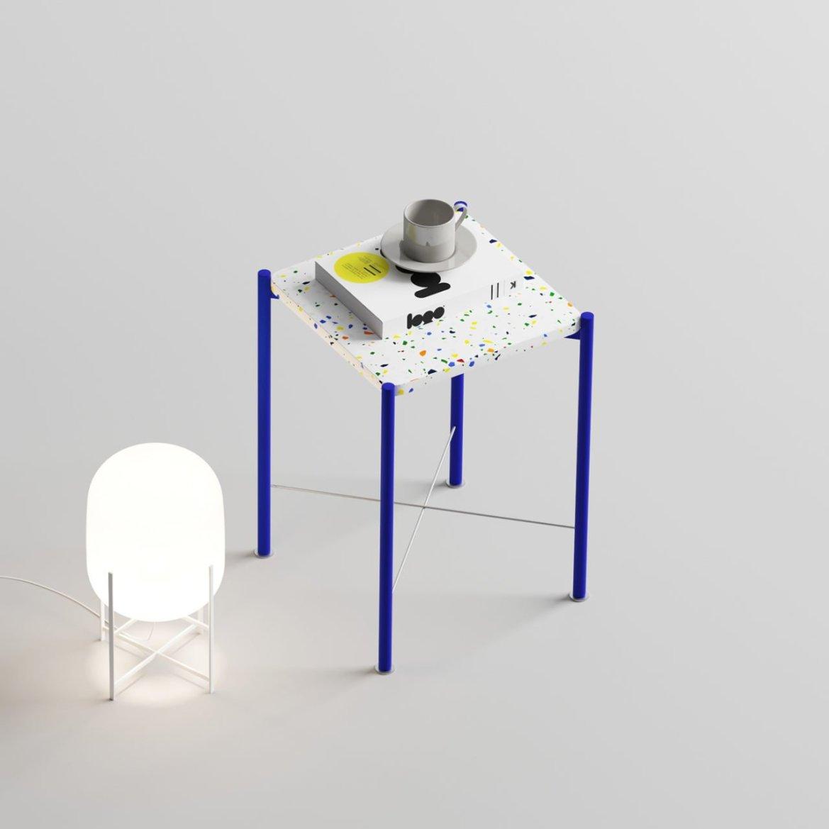 Speckled Side Table, by Yunus Emre Uzun designer
