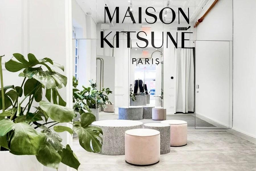 RETAIL: Maison Kitsuné, par Mathieu Lehanneur