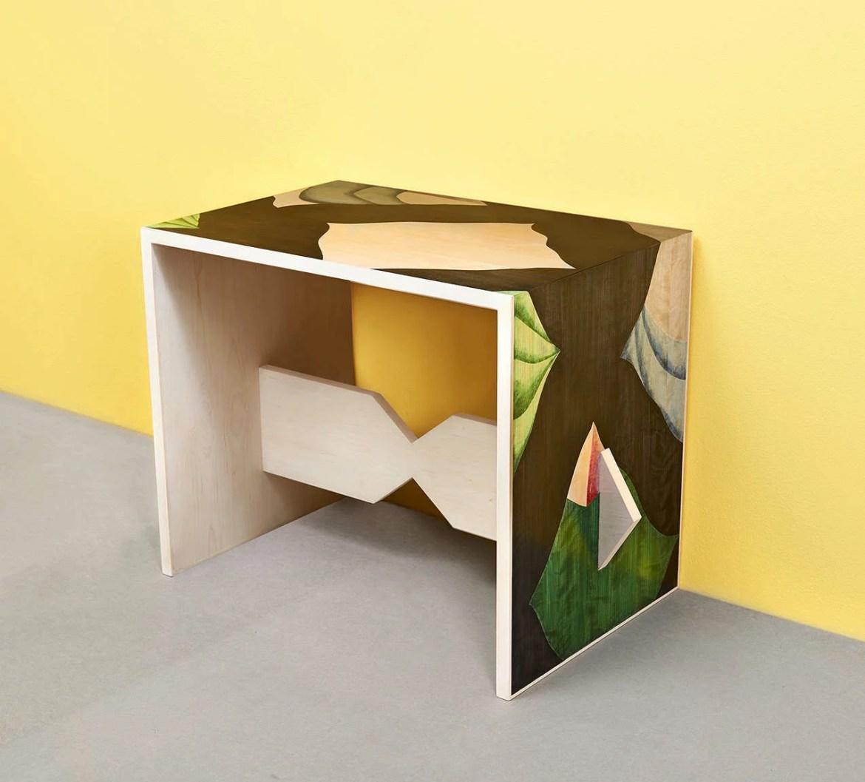 Design, Vera Panichewskaja, Hidden Pyramids Table