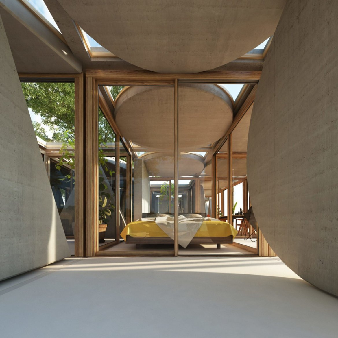 Découvrez le style architectural Town and Concrete, ou l'architecture du futur au présent.