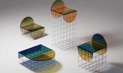 Circle Set Furniture Design: Le Verre Ombré sous un nouveau…