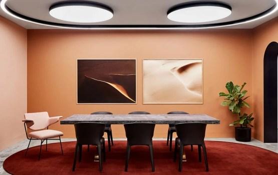 Pour Est Lighting, Christopher Elliott a créé une nouvelle typologie d'espace