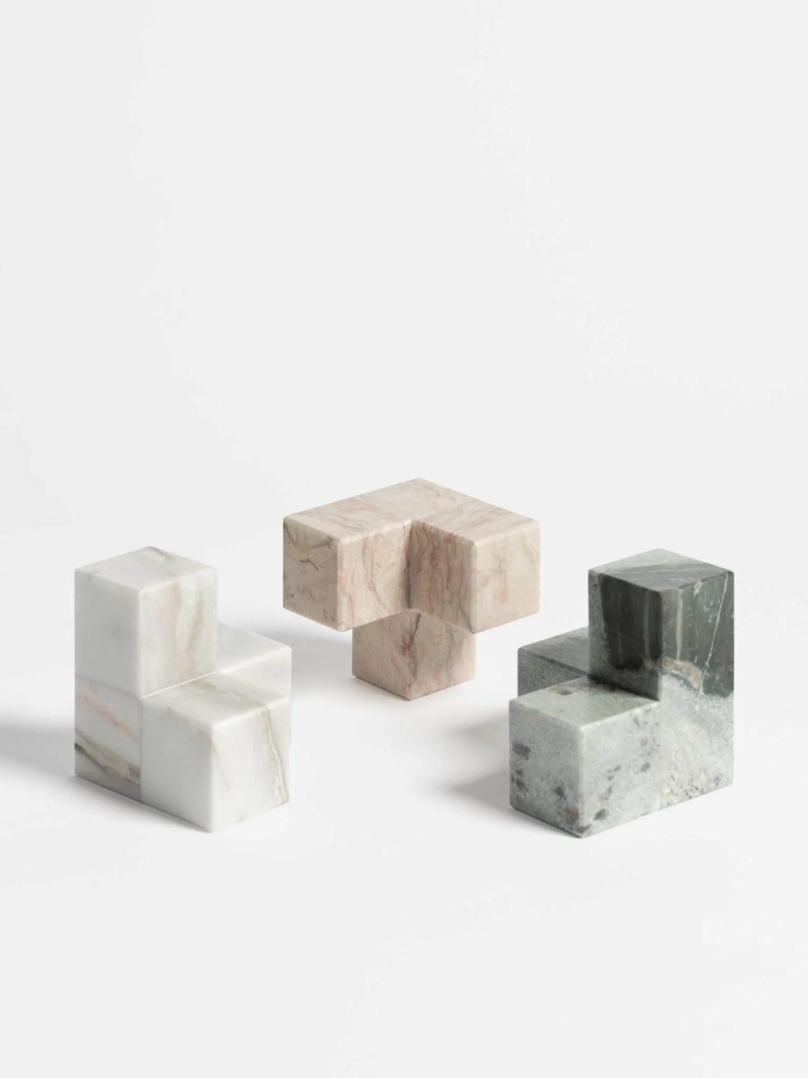 Maison et Objet 2020, Techxture, marble book ends