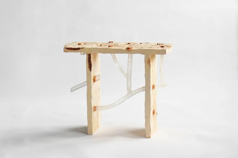 Sculptural design furniture Japanese designer Sho Ota