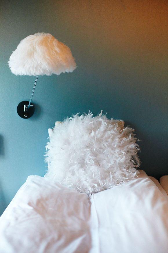 Fluffig säng