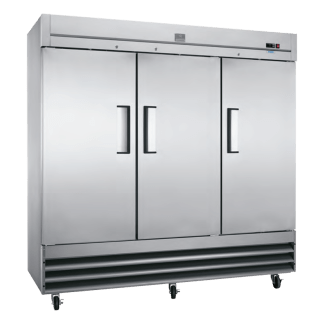 KCBM72F-738006 72 cu.ft Solid Triple Door Commercial Freezer