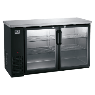 "KCBB60GB-738049 60"" Glass Door - Back Bar Cooler - Refrigerator"