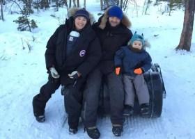 family husky tours