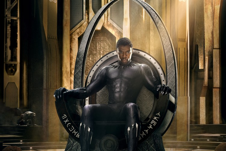 Black Panther Movie Poster Teaser