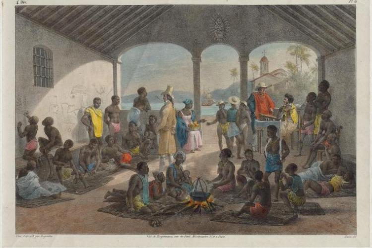 Marché Aux Nègres. Rugendas, Johann Moritz (1802 1858) (Artist)