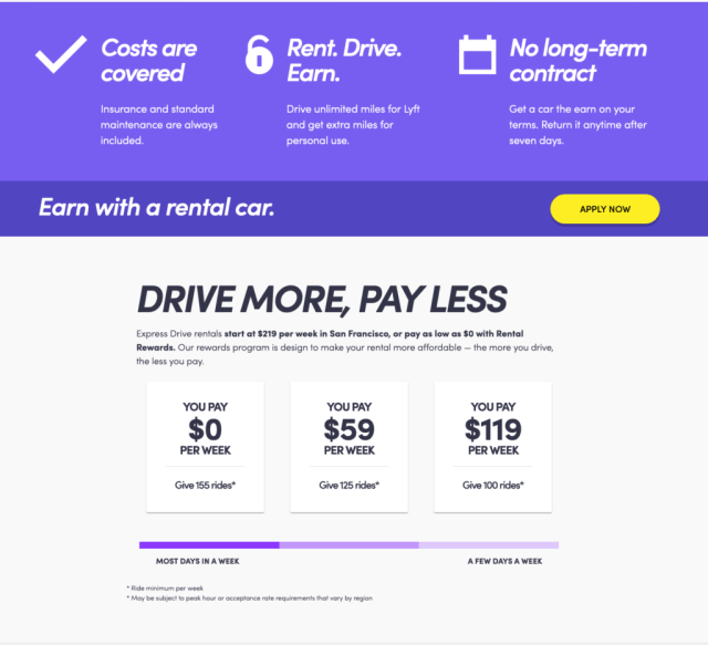 Lyft Cuts Pay For
