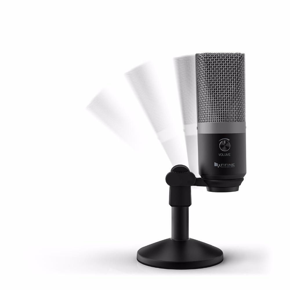 Adjustable USB Desktop Microphone