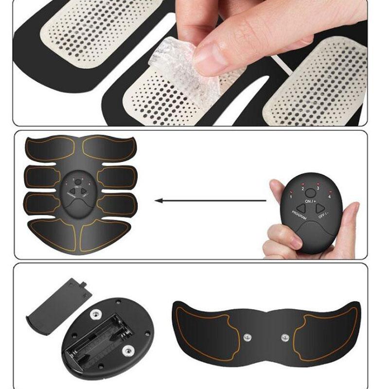 Wireless Electric Muscle Stimulator Set
