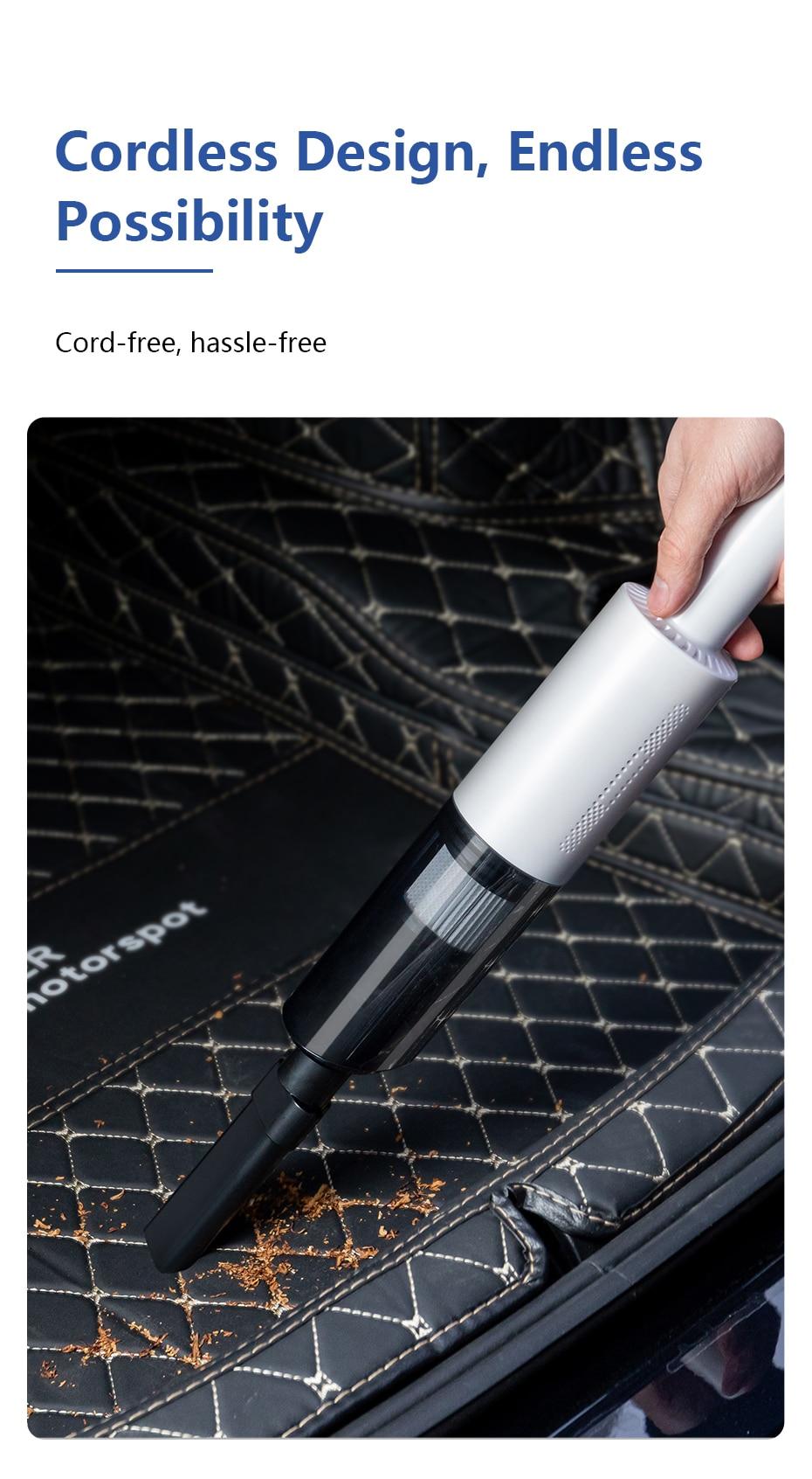 wireless car vacuum cleaner mini handheld