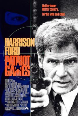 June 5, 1992: PATRIOT GAMES - $83.3 million total box office gross